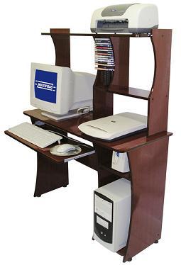 Mesa para Computador Acessórios e Impressora Multivisão Flash