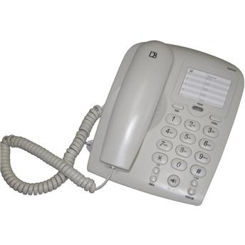 Telefone com Fio Estilo Tradicional Digital Bras  DB-502B