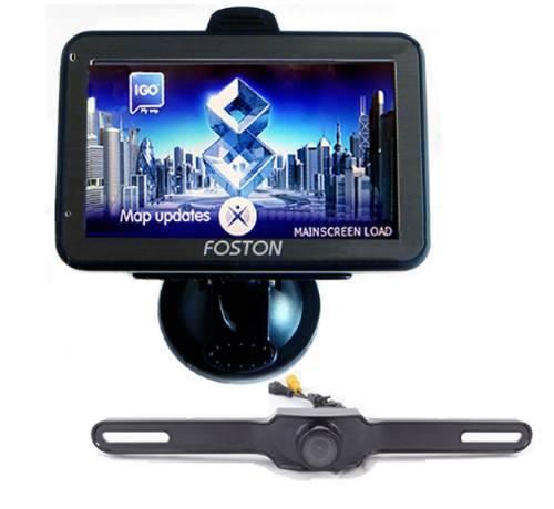 GPS FS-470DC C/ TV DIGITAL + (SISTEMA DE CAMERA PARA RETROVISOR)