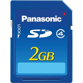 Sd Memory Card 2gb Rp-Sdn02Gu1A Panasonic