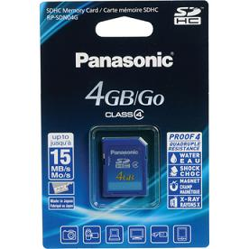 Sdhc Memory Card 4gb Rp-Sdn04Gu1A Panasonic