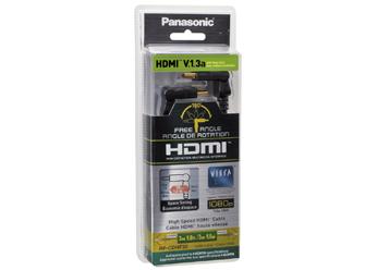 Cabo Panasonic HDMI preto  Fab.RP-CDHS30
