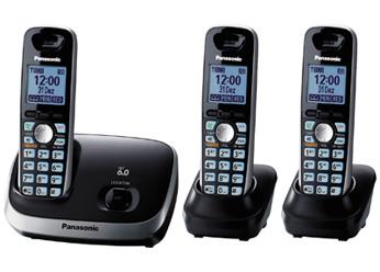 Telefone sem Fio DECT 6.0 - KX-TG6513LBB-Panasonic