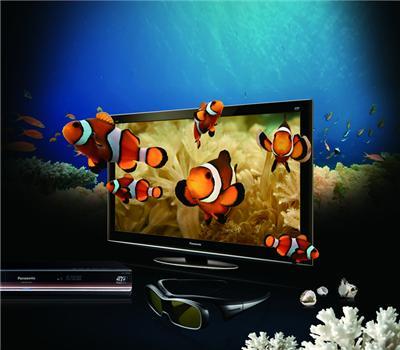 Tv Plasma 3D Tc-P58Vt20B Kit (Dmp-Bdt300Pu 2 Óculos 2 Discos) Panasonic