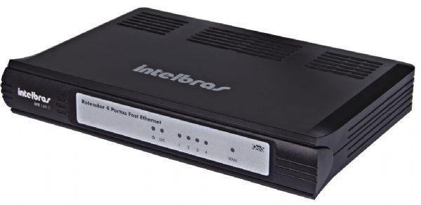Roteador 4Portas Fast Ethernet Qos Rfe140Q
