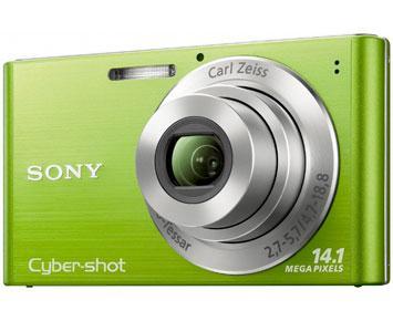 Câmera Digital Dsc-W320 14.1Mp com Smile Shutter Sony