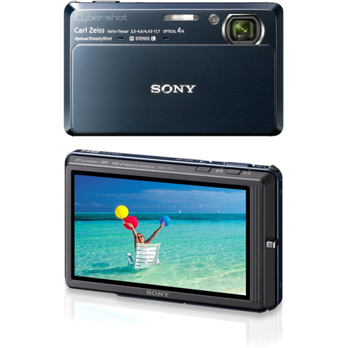 Câmera Digital Dsc-Tx7 12.1Mp com Smile Shutter Sony