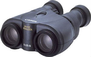 Binóculo com Ampliação 8x Lente 25mm e Estabiliz. de Imagem 8x25Is Canon