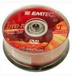 Midia DVD-R Emtec 8x 4,7gb 25 Unid
