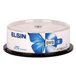 Mídia DVD-R Elgin 4.7gb 120min 16x 25 unid