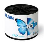 Mídia DVD-R Elgin 4.7 gb/120 Min/8x (Pìno com 50 Unid)