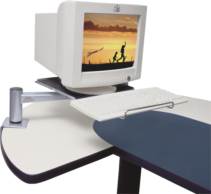 Suporte de Mesa Articulado para Monitor CRT Multivisão - MTFLEX