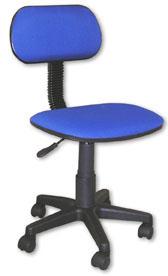 Cadeira Secretária com Regulagem de Altura a Gás Cad-x Multivisão Azul