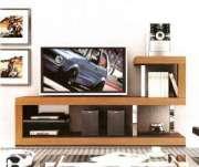 Rack para TV até 42´ Multivisão Inverse Branco e Preto