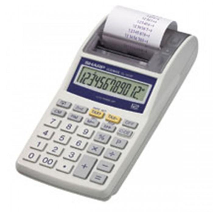 Calculadora Portátil Sharp EL1611P - Visor, Impressora, Calendário e Relógio