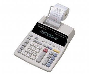 Calculadora Sharp El1801V 110v 12 Díg Visor e Impressora Rolete Bicolor