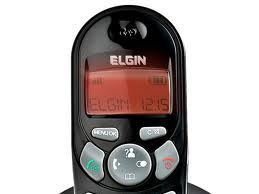 Telefone sem Fio Elgin Tsf-4001 1.9 ghz Dect 6.0 Viva Voz Identificador até 5 Ramais