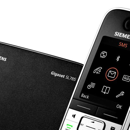 Siemens Aparelho de Telefone Sl785 sem Fio