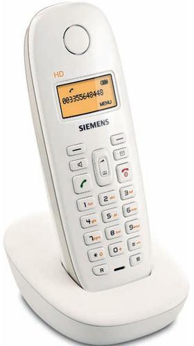 Telefone sem fio Gigaset A380 Branco