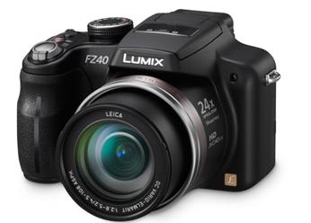 Câmera Digital Panasonic Lumix DMC-FZ40PU-K