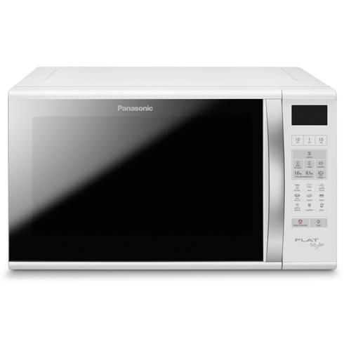 Forno de Micro-Ondas Flat 27L 6 Níveis Potência Sistema Flat Branco Panasonic Nnsf560Wru