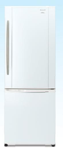 Refrigerador Panasonic NR-B461XZ/ YZ-W3 -INVERTER - 420 litros Frost Free, 2 Portas, GavetAlima entos Frescos, Tecnologia Inverter, Prateleiras Vidro Temperado, Consumo ´A´
