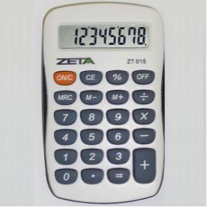 Calculadora de Bolso Zeta Zt-015