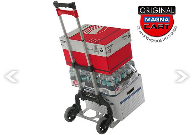 Carrinho p/ carga em Alumínio Multienergy  Magna Cart MCX