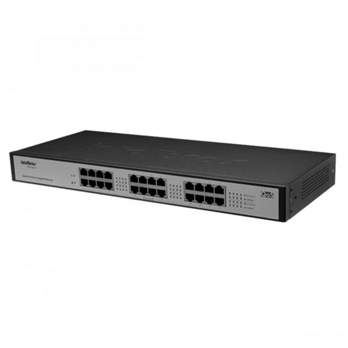 Switch Rack 24 Portas 10/100/1000 Sg 2400 Qr Intelbrás