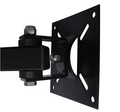 Suporte de parede Brasforma SBRP140 Preto para TV LCD LED Plasma 3D 10 a 55 polegadas