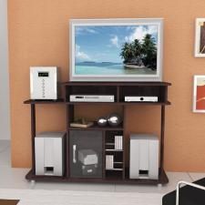 Rack para Tv/DVD Multivisão PALAS com Portas de Vidro Marfim
