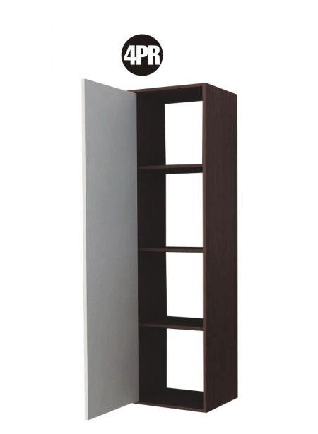Módulo 4 Armário Alto com Porta e Prateleiras 4Pr Mulivisão