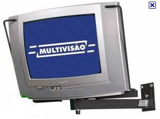 Suporte Convencional para Tv de 14 a 20 Multivisão St40