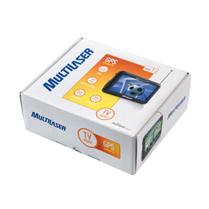 GPS com TV 4,3´ Multilaser GP004
