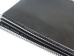 Capa p/ Encadernação A4 - Coloridas, Fundo Fosca - c/ 100 unid.  Excentrix