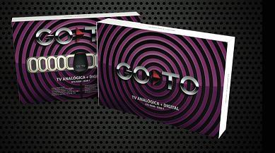 Antena TV Analógica   Digital   ISDB-T GoTo- GT5 R500 (Cod: 2735)