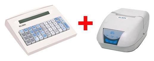 Combo Microterminal Elgin Newera E1 Fiscal e Impressora Fiscal Elgin Ecf Fit Mfd 1E