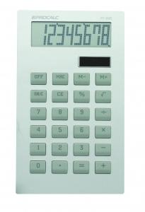 Calculadora de Mesa Procalc Pc228 8 Dig Lcd Matriz de Pontos Corpo Alumínio Tecla Borracha