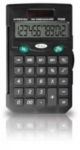 Calculadora de Bolso Procalc Pc222 12 Díg Solar/Bat Capa Protetora Tecla Roll-Over 00 G10