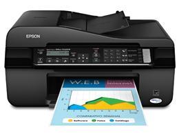 Epson Stylus Tx525Fw Multifuncional Jato de Tinta 4 Cores Fax Wireless