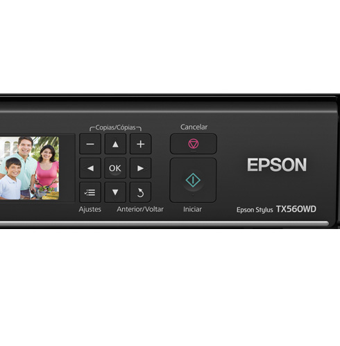 Epson Stylus Tx560Wd Multifuncional J. de Tinta 4 Cores Wireless / Duplex