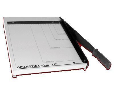 Guilhotina Excentrix Lv30 Corte 305mm Base 240x393 10Fls Peso 2,6K