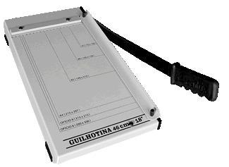 Guilhotina Excentrix Lv46 Corte 460mm Base 240x553 10Fls Peso 3,4K