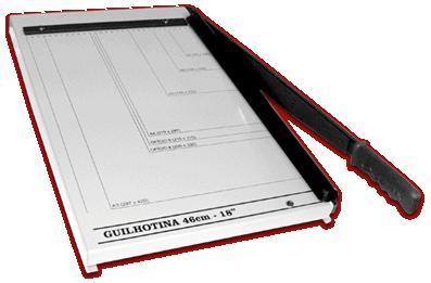 Guilhotina Excentrix Ka46 Corte 460mm Base 340x553 Corte 20Fls Peso 6K