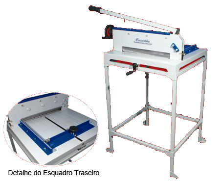 Guilhotina Semi Industrial Master Excentrix Std340 Mesa 540x530x230 300 Folhas 42Kg