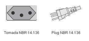 Filtro de Linha Multicraft Power Line 3TNBR com 3 Tomadas Gabinete de Plástico Plugin 21633