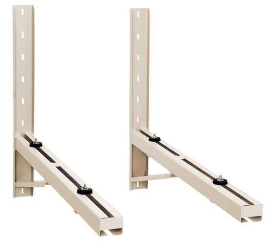 Suporte Ar Condicionado Split 1000 Pur Metávila 1000mm de 36 a 60.000 Btus Chapa U 1,5/2mm