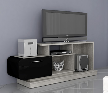 Rack Elegance para Tv/DVD até 42 com Porta Retratil Uv Multivisão