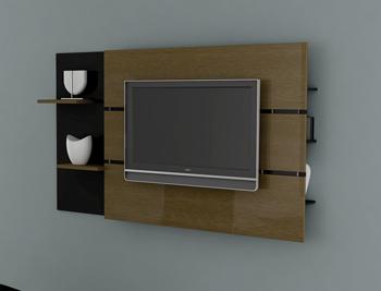 Painel Decor Multivisão para Tv de 40 a 52 (com Suporte para Fixação da Tv no Painel)