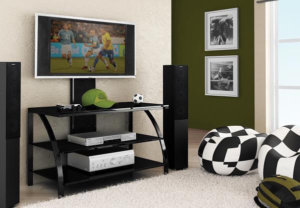 Rack Aço 60 Multivisão para Tv Lcd Plasma ou Led de 32 a 52 e Acessórios